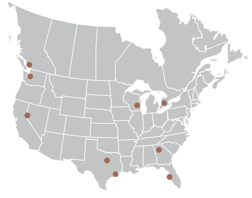 HPS Warehouse locations