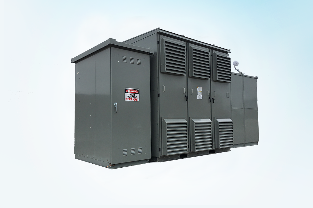 Utility Scale Solar Transformers from HPS