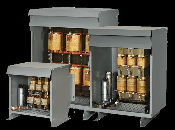 HPS passive harmonic filter in 3 sizes